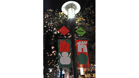 Hanatsubaki Dori Christmas Illumination