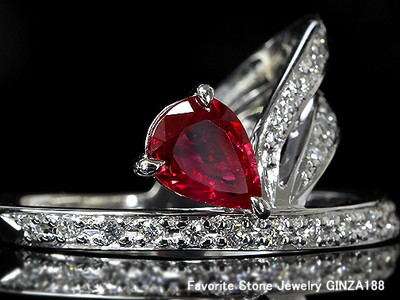 1.02 ct Ruby Ring