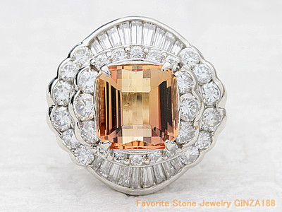Imperial Topaz 4.25ct Ring
