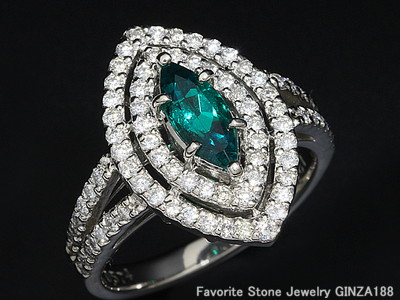 Non-oil Emerald Ring