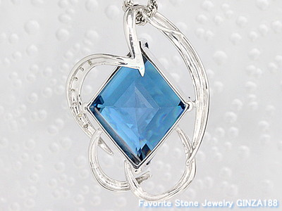 Blue Topaz 23.16ct Necklace