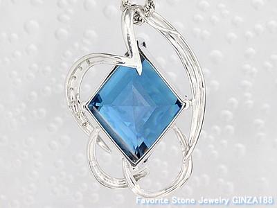Blue Topaz 23.16ct Necklace