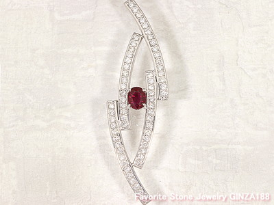 Pigion Blood Ruby 1.12ct Pendant