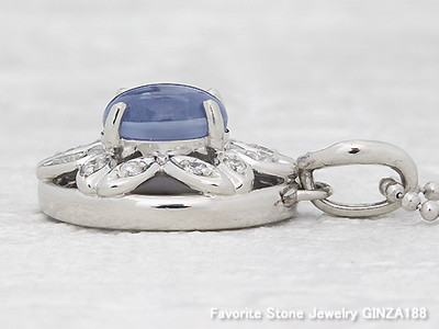 【Favorite Stone】New arrival:Blue star sapphire 2.41 ct necklace