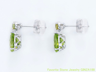 Peridot & sphene earnings 2.2ct