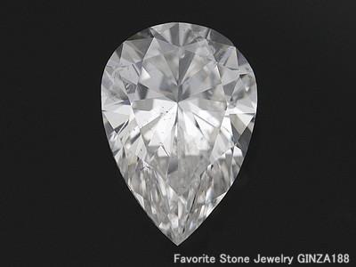 ダイヤモンドルース 2.220ct G SI-2 ペアシェイプ
