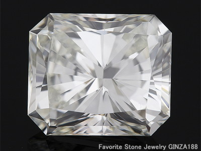 Radiant Cut 3.824 ct J VS1 Diamond