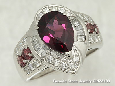 Rhodolite Garnet 2.58ct Ring