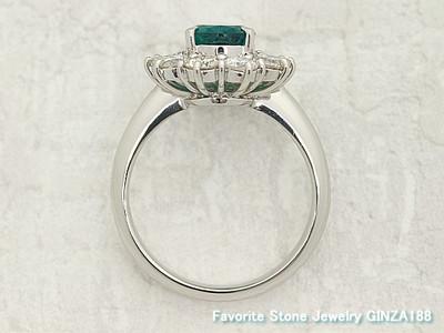 Emerald 1.59 ct ring