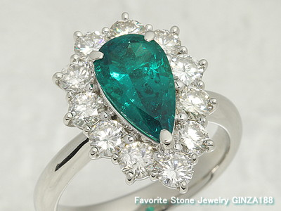 Emerald 1.59 ct ring