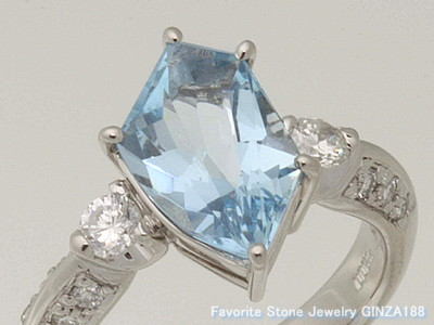 Aquamarine 2.47ct Ring