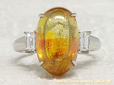Sphalerite 4.92ct Ring