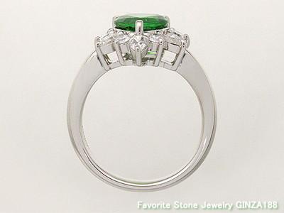Mali Garnet 1.56ct ring