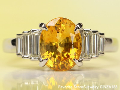 Gem Selection Yellow Sapphire