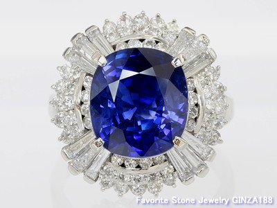 Sapphire 6.10 ct Ring