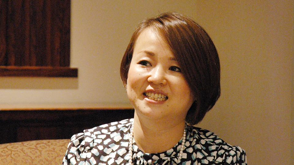 Mikimoto Display Designer Chie Kawai