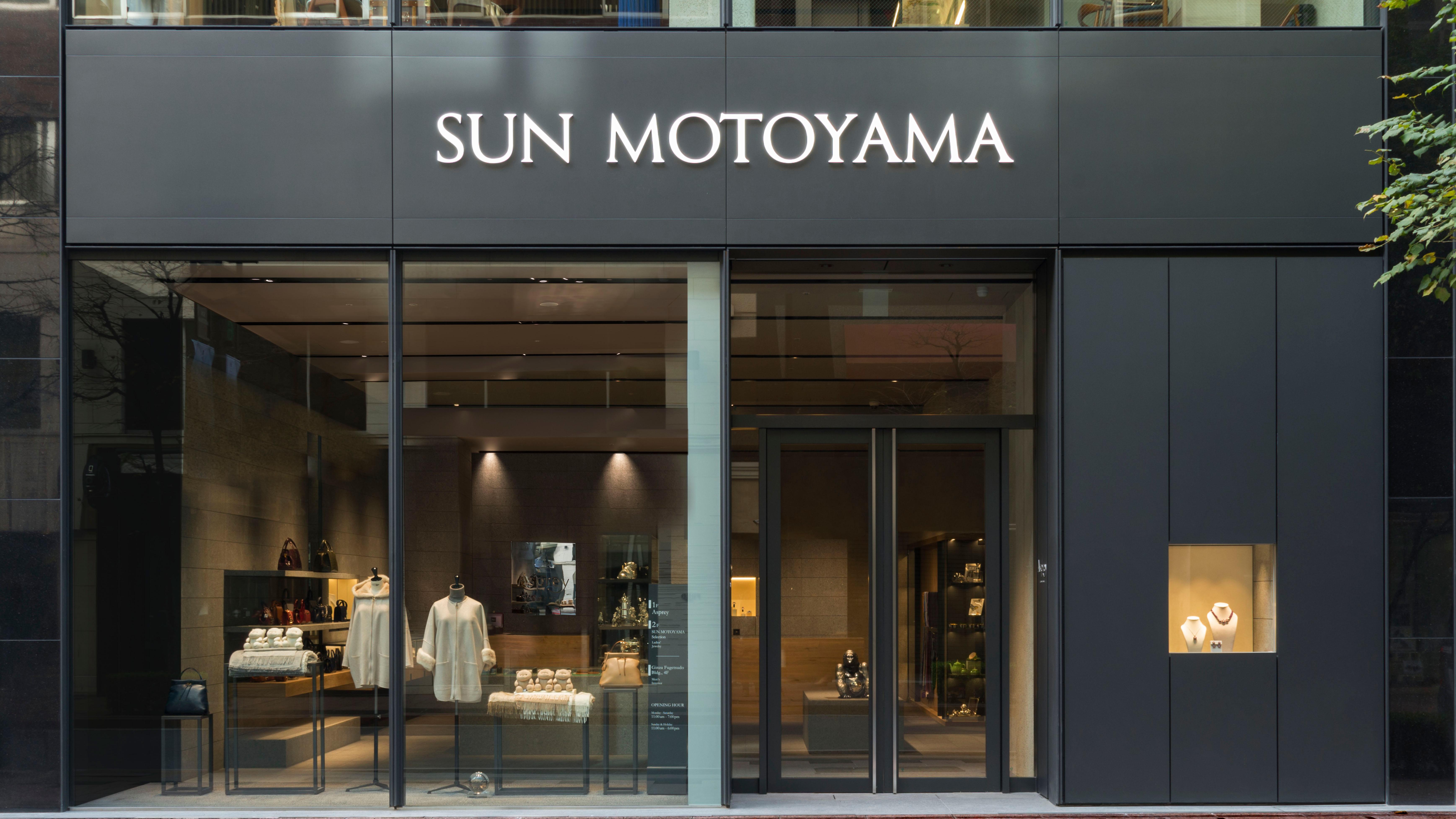 SUN MOTOYAMA Ginza